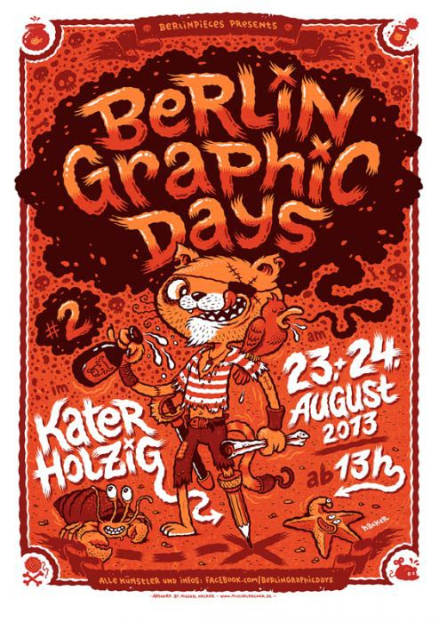 Michael Hacker Poster Berlin graphic days