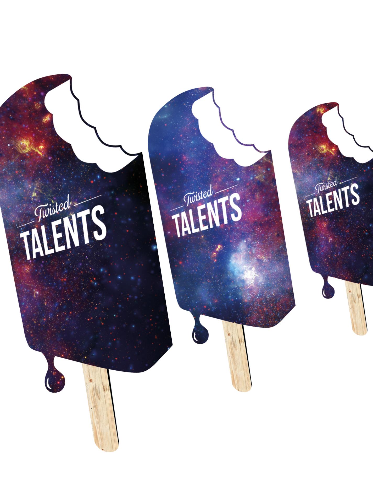 TWISTED TALENTS Graphic Design T-Shirts einfach online kaufen.Icecream Universe